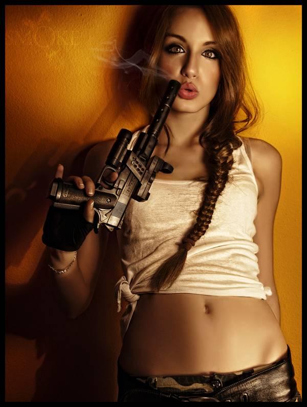 Фильмы боевики обилуют оружием и