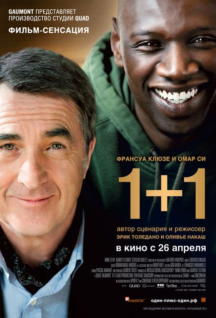 Фильм 1+1 Неприкасаемые (Intouchables) 2011