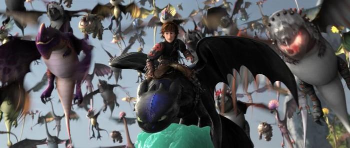 Кадры из фильма Как приручить дракона 2