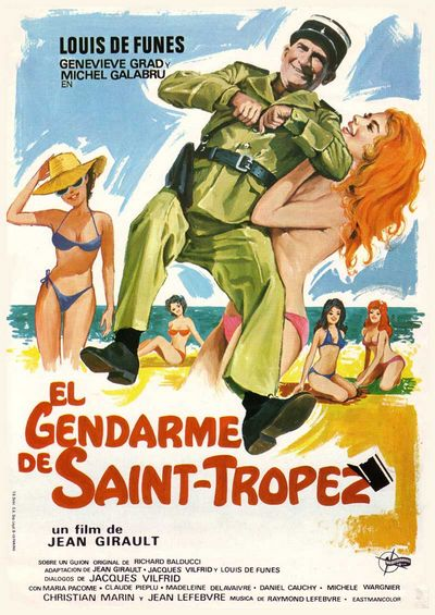 Жандарм из Сен-Тропе (Le gendarme de Saint-Tropez) 1964